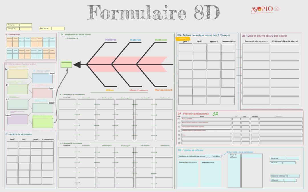 Formulaire 8D